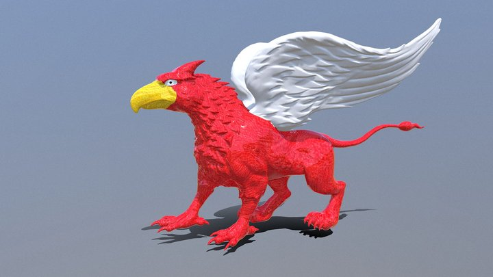 Mythical Creature 3D Model