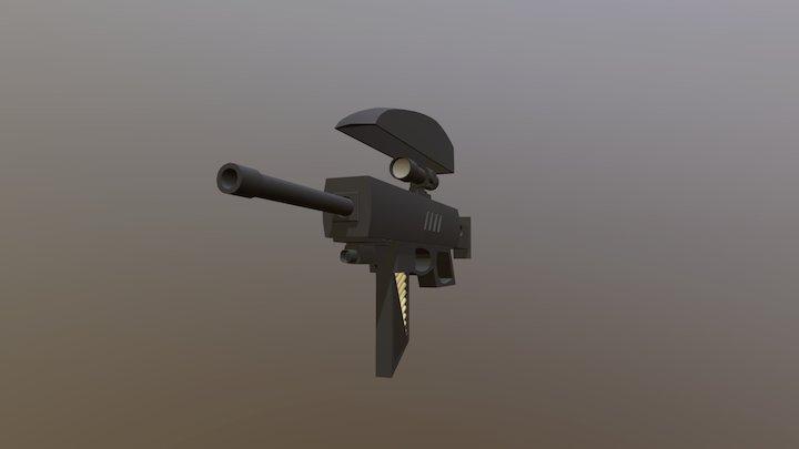 Assault Rifle Stage 1 3D Model