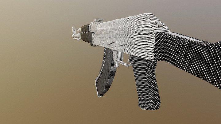 Ak47 | Contrast 3D Model