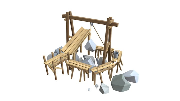 Extraction Of Stones AO 3D Model