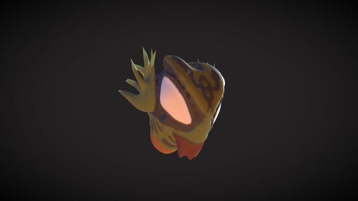 Basilisken Mask 3D Model