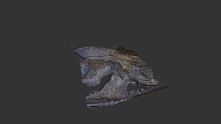 Mariansky lom quary in Usti nad Labem (CR) 3D Model