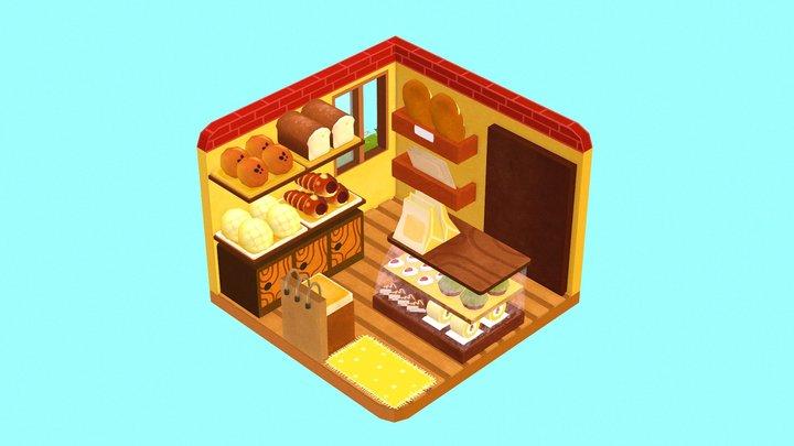 Tiny Bakery 3D Model