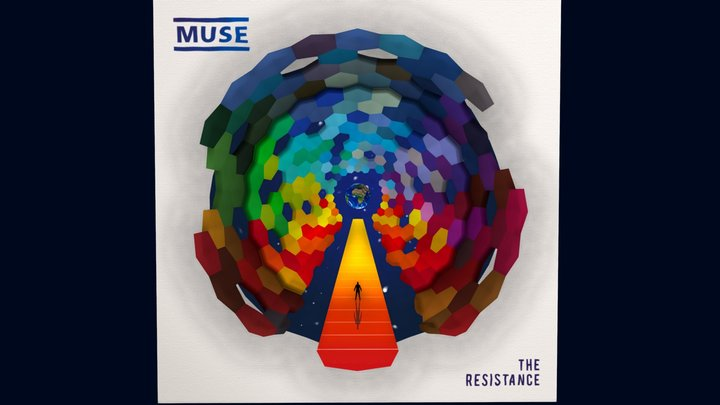 The Resistance - Muse | 3D Cover 3D Model