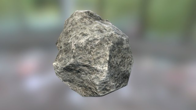 small rock 2 | low poly 3D Model