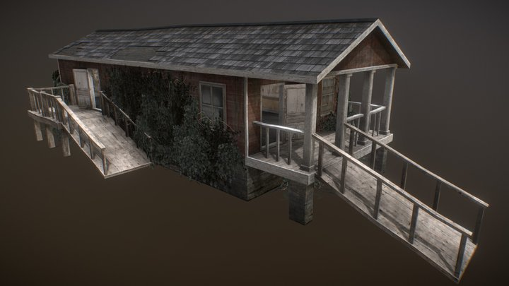 Town Buildings 03 3D Model