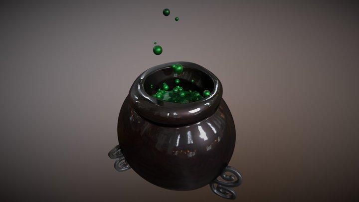 01 Poison 3D Model