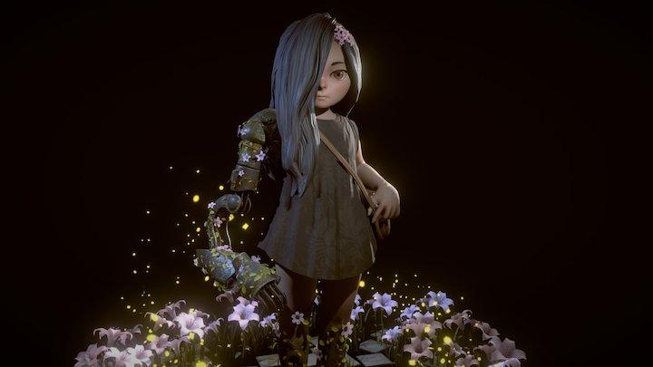 Lina - Beyond Human 3D Model