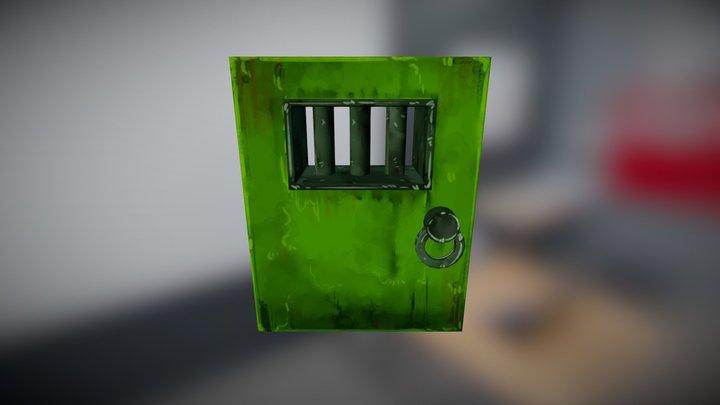 Exit Door WIP 3D Model