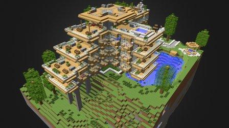 Hillside Manor Large 3D Model