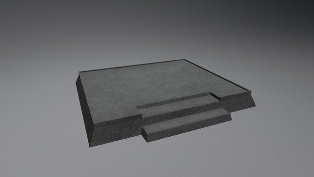 Podium (Large) 3D Model