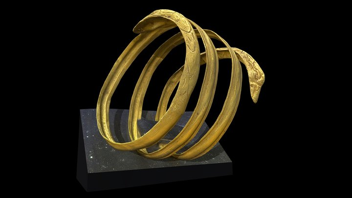 Bracciale spilariforme 3D Model