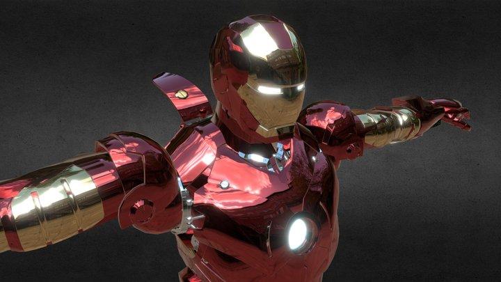 Iron Man Mark 42 3D Model