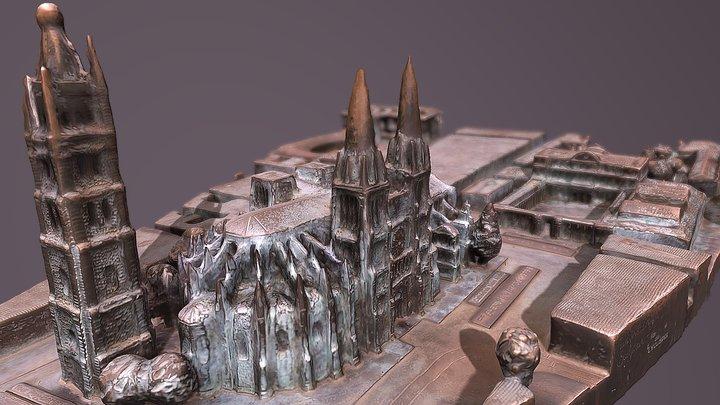 Pey-Berland model 3D Model