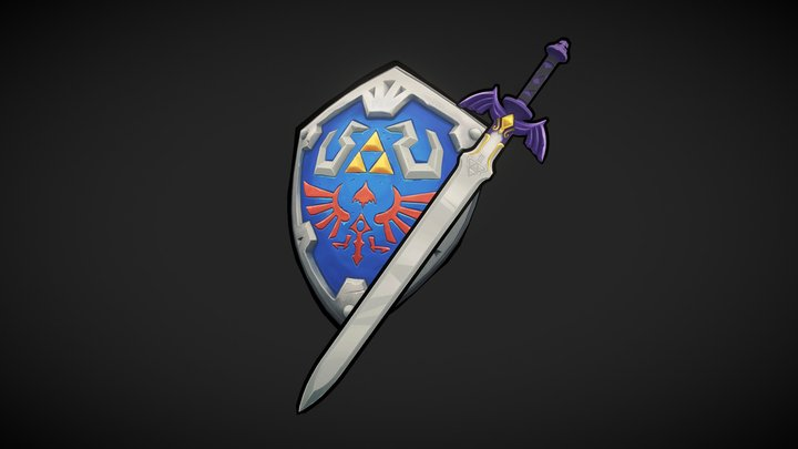 Links sword and shield 3D Model