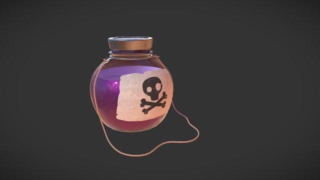 Poison Bottle 3D Model
