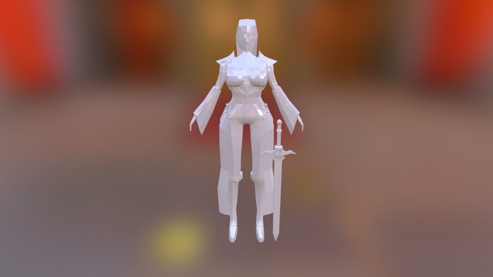 Elvish 3D Model