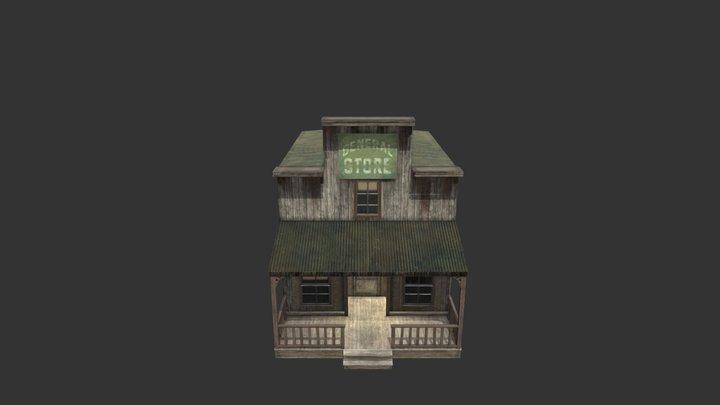 Western General Store 3D Model