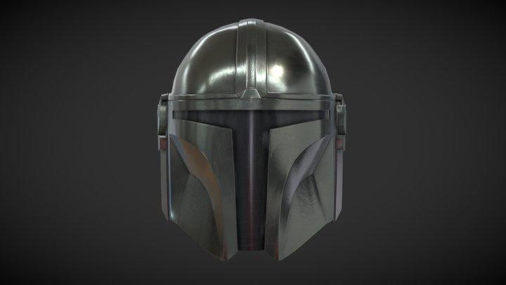 Mandalorian_helmet 3D Model