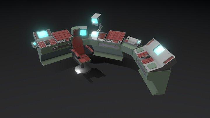 Control Terminal 3D Model