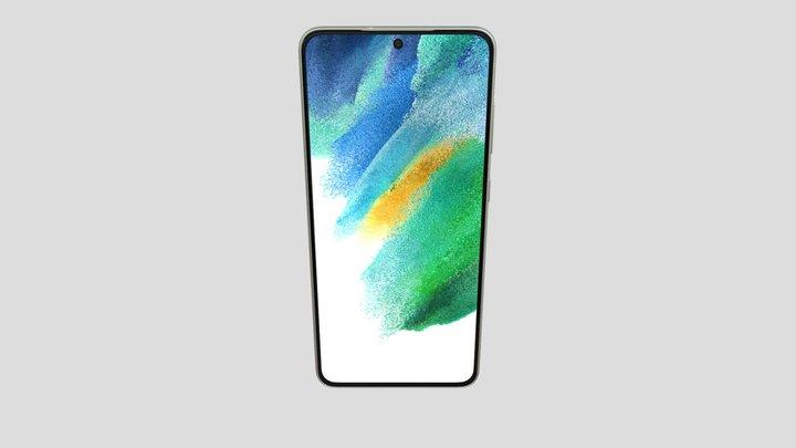 Samsung Galaxy S21 FE in Green 3D Model