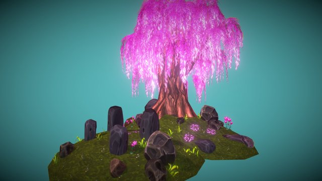 Large Willow 3D Model