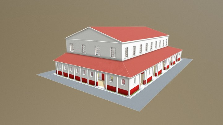 Theatre (Interamna Lirenas, Italy) 3D Model
