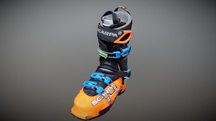 Product Photogrammetry 3d ski boots catpure 3D Model