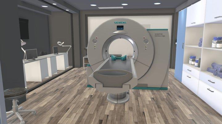 CT Room 3D Model