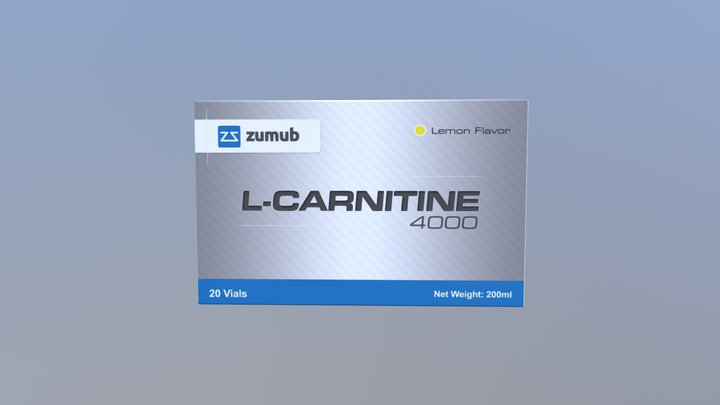 Zumub L- Carnitine 3D Model