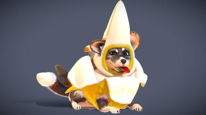 Corgi Banana Expansion Pack 3D Model