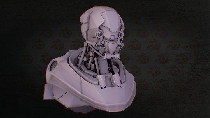 Drop Bot 3D Model