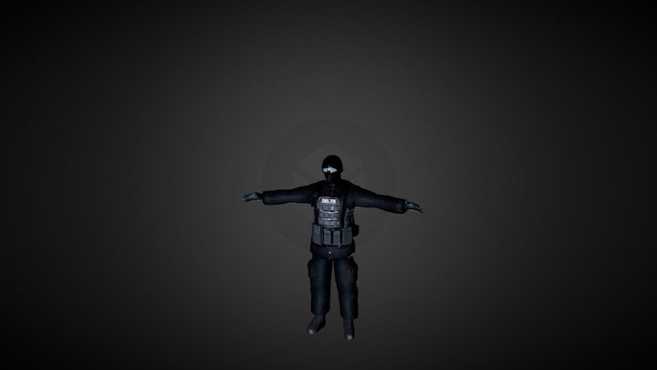 Delta Force for W:RD 3D Model
