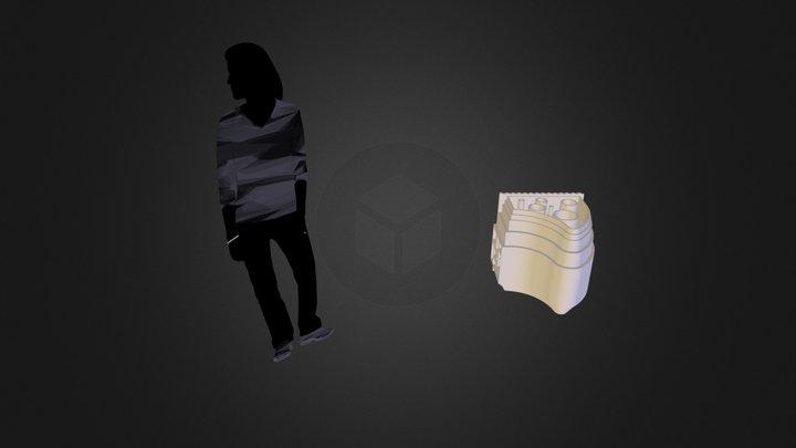 Hadid Syafaad 3D Printing Challenge.dae 3D Model