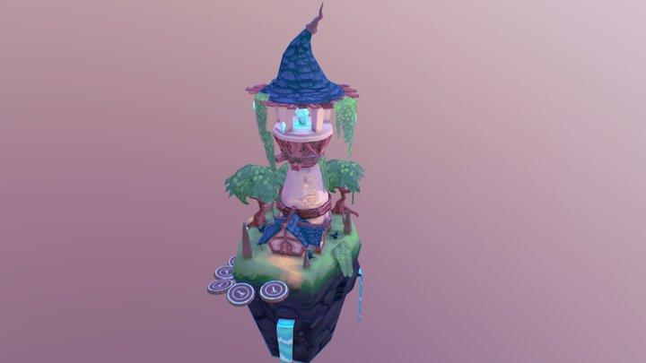 Wizard's Tower 3D Model