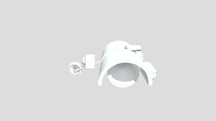 ninjago bike 5th season 3D Model
