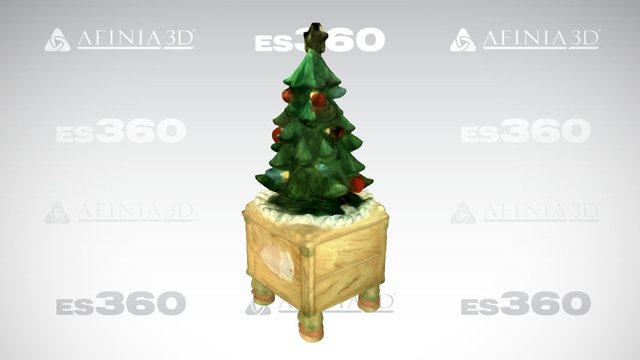 Christmas Tree, by Afinia ES360 3D Scanner 3D Model