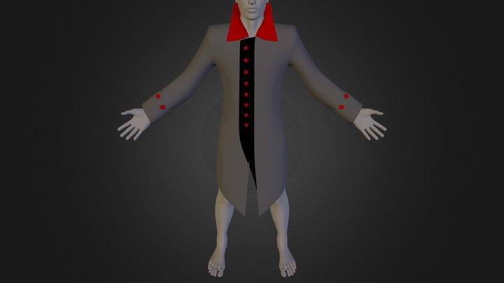 coatdesign_export_final(hoodless).FBX 3D Model