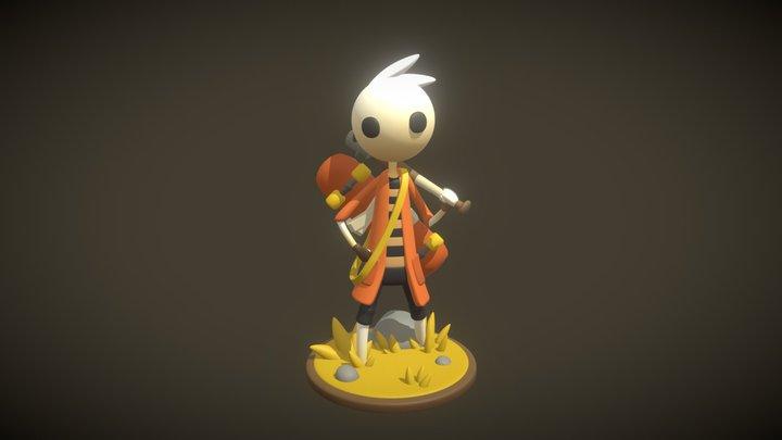 Neversong Peet 3D Model