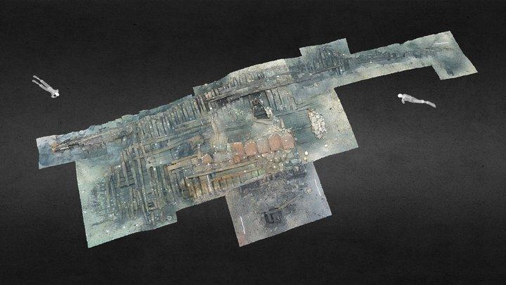Gnalic Shipwreck (2014-2017 Field Seasons) 3D Model