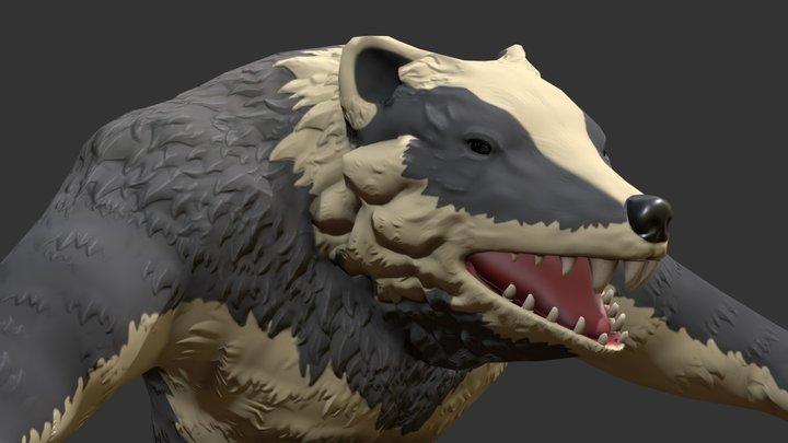 Badger Ranger 3D Model