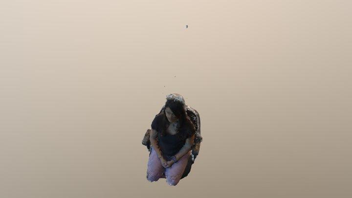 Shay portrait 3D Model
