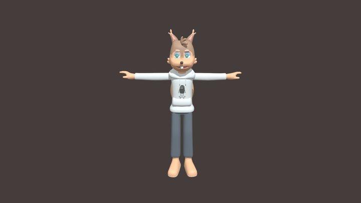 Squirrel boi 3D Model