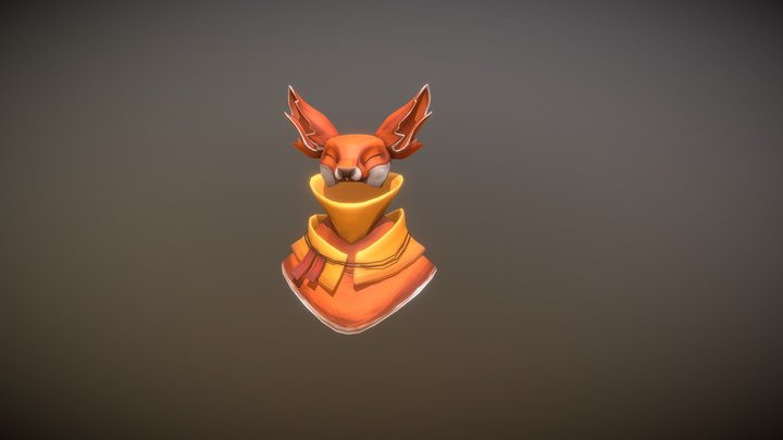 Fox | Anxiety 3D Model