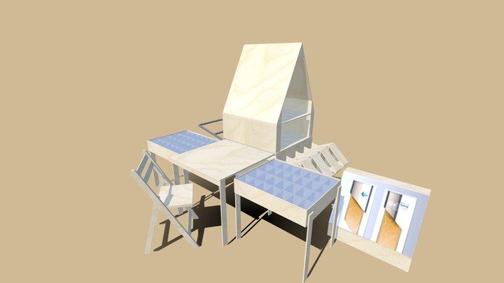 Unit STATIONARY 3D Model