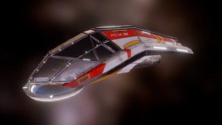 Speeder FC-14 3D Model