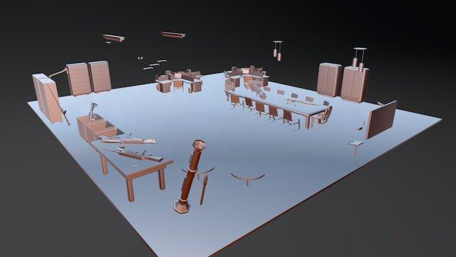 Cena1 3D Model