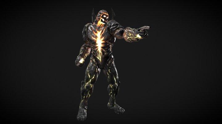 Dark Kahn 3D Model