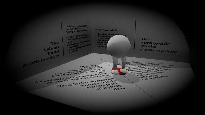 Der springende Punkt     The salient Point 3D Model