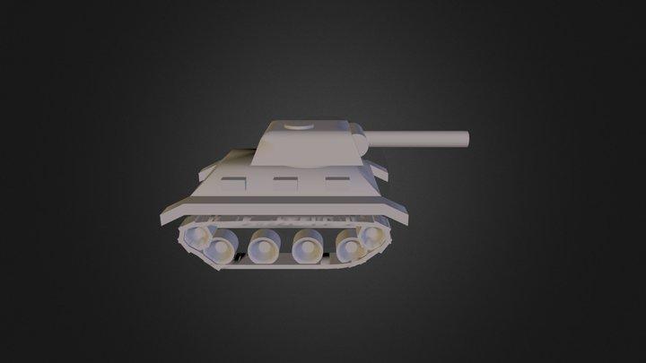 Tank 6 3D Model